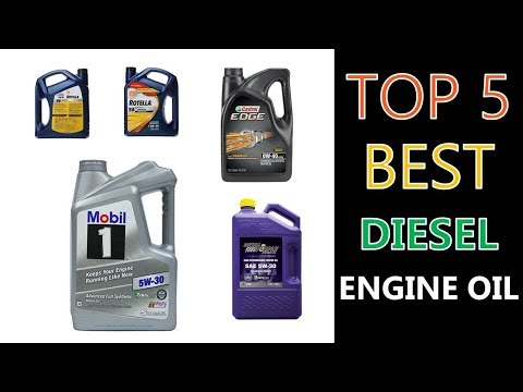 Best Diesel Engine Oil