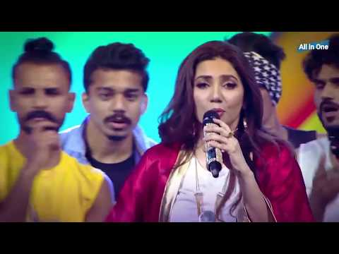 Mahira Khan Performance 16th Lux Style Awards 2017