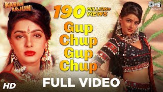 Gup Chup Gup Chup - Karan Arjun | Mamta Kulkarni | Alka Yagnik & Ila Arun
