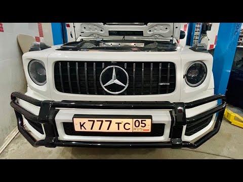Проф выпуск - Установка выхлопа на G63 AMG за 17млн рублей? Легко!
