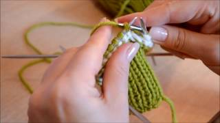Вязаные варежки - это просто! Knitted mittens - it