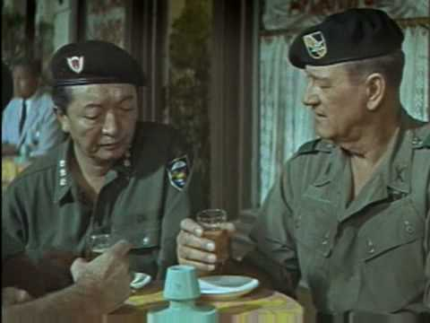 the green berets (1968) - YouTube ce7ef386a70a