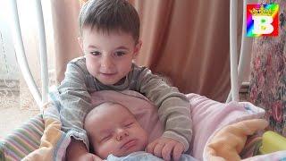 Baby love - Pure love.  Baby Anabella on Bogdan`s Show.