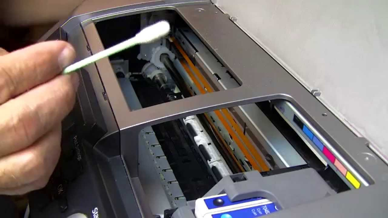 Line Optical Designjet : How to rescue and revive a clogged neglected printer part
