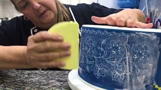 Confeitaria Artística Pasta Americana - Glacê na Tela - Adalgisa Almeida
