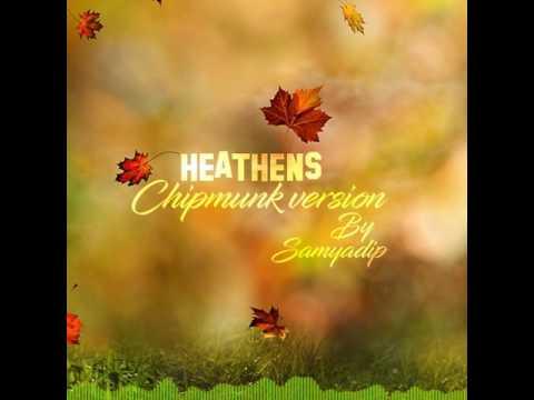 Heathens - Twenty one pilots (Chipmunk...