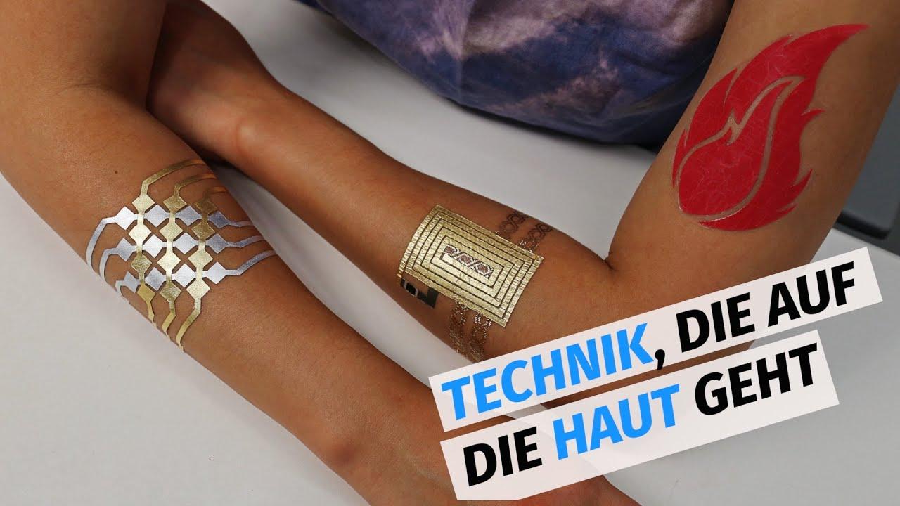 mit diesen tattoos k nnen elektronische ger te gesteuert werden youtube. Black Bedroom Furniture Sets. Home Design Ideas