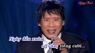 THƯ XUÂN BA VIẾT CHO CON Karaoke