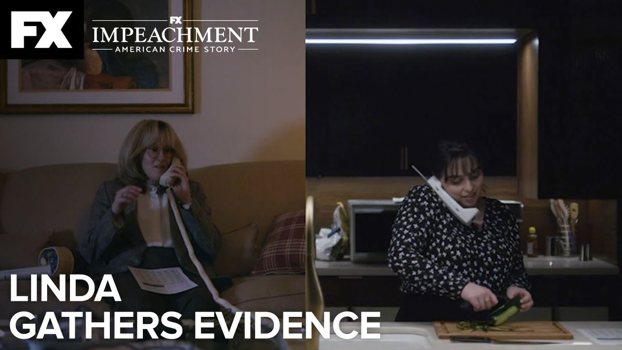 Linda Gathers Evidence | Impeachment: American Crime Story – Ep.4 | FX