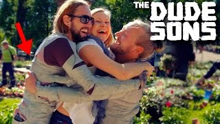 Picking Up Girls In A Duct Tape Suit Prank! - The Dudesons
