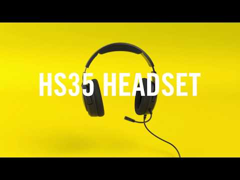 CORSAIR HS35 Stereo Gaming Headset - Make Audio Your Ally
