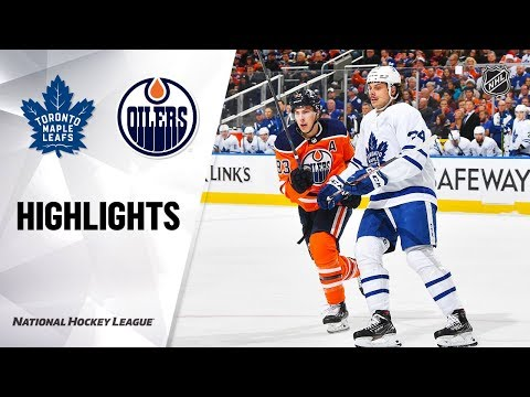 NHL Highlights | Maple Leafs @ Oilers 12/14/19