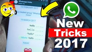 8 Cool New WhatsApp Tricks You Don't Know 2017