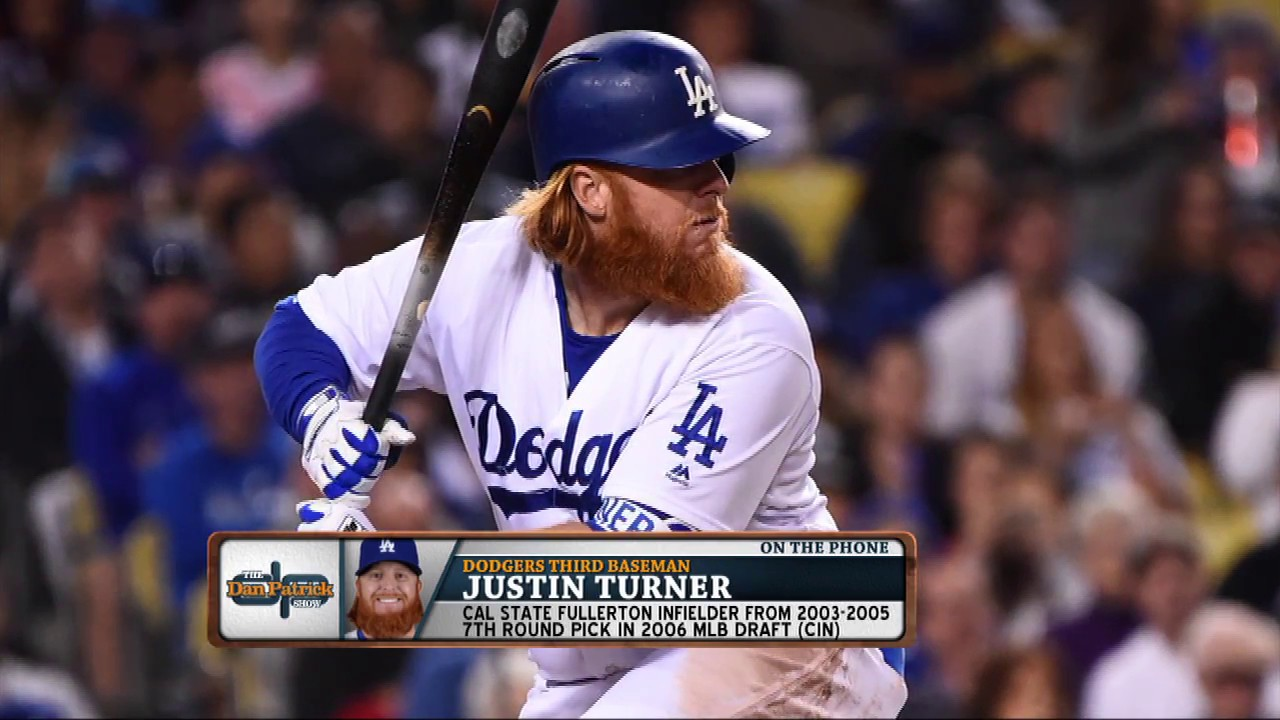 Dodgers 3B Justin Turner on How L A  Is Preparing for Postseason | The Dan  Patrick Show | 8/21/17