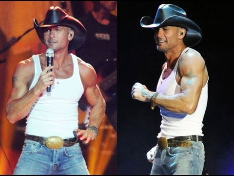 Is Tim Mcgraw on steroids? - YouTube