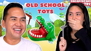 Singaporeans Try: Old School Toys