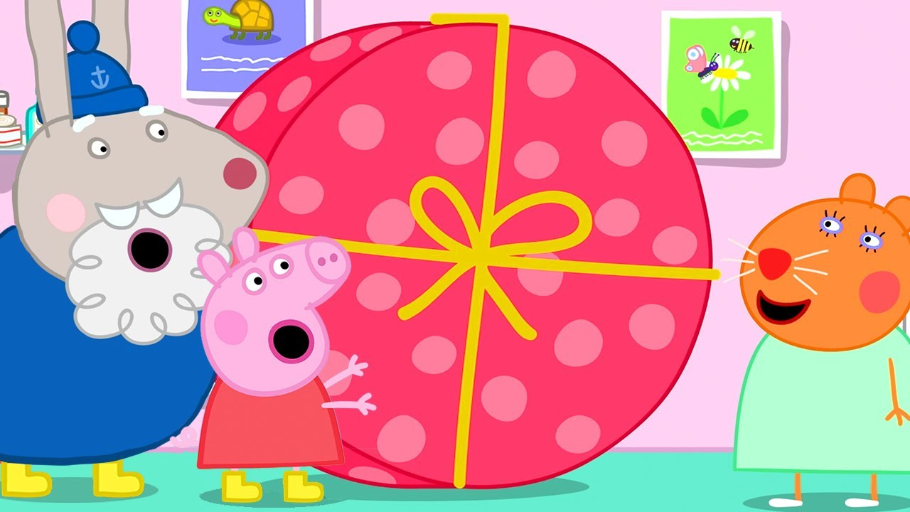 Download Peppa Pig Official Channel   Peppa Pig Delivers Doctor Hamster's Big Holiday Present