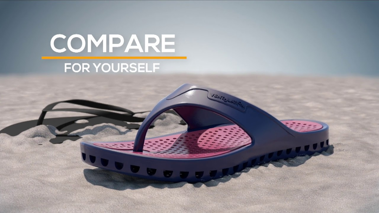 Ventolation Water Sports Sandals - Soles with Holes