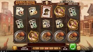 Игровой автомат Gunslinger Reloaded (Play'n GO)