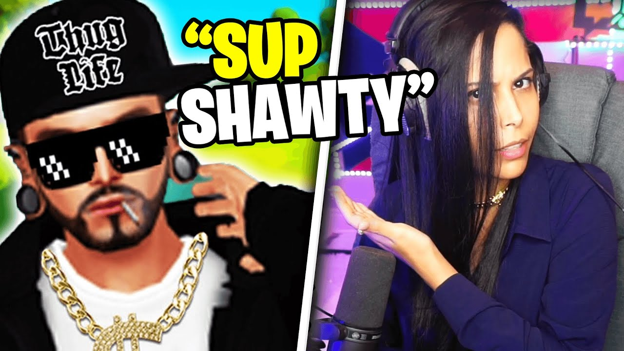 Download I Met a THUG in Fortnite and this is how it went...   Chica