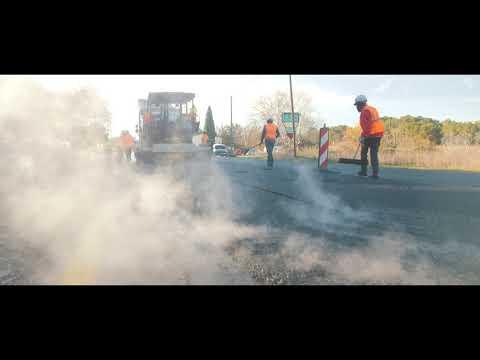 RD7n : une route rénovée et durable
