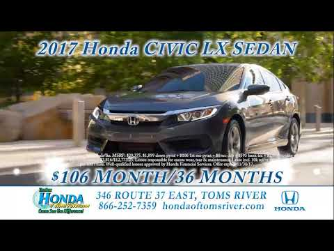 Honda Of Toms River Deals Of The Decade Nov