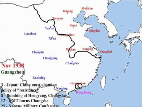 Second Sino Japanese War from 7/7/1937 to 7/30/1940