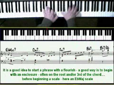 Misty Jazz Piano Lesson Youtube