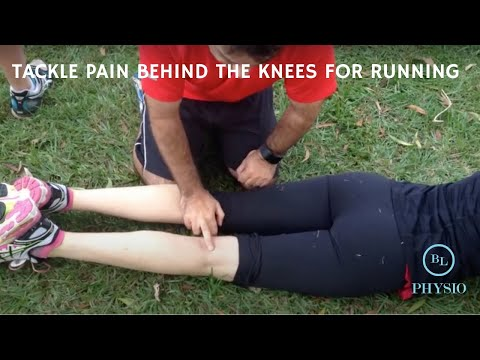 tackle pain behind the knee for running running injury free