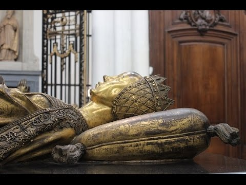 Mary of Burgundy's Tomb at the Church of Our Lady in Bruges, Belgium