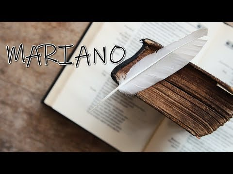 MARIANO - De ar fi sa scriu o carte ( Video 2018 )