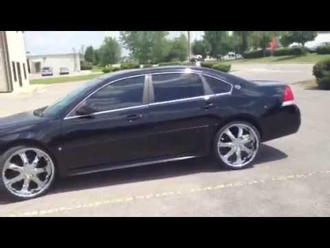 22 inch borghini b7 bentchi wheels 2009 impala youtube. Black Bedroom Furniture Sets. Home Design Ideas