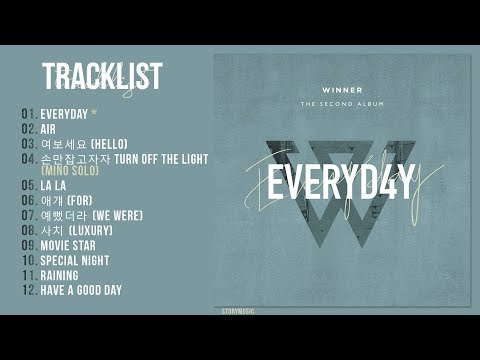 [Full Album]  WINNER // EVERYDAY (Second Album)