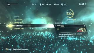 Assassins Creed IV Freedom Cry - Upgrade the Experto Crede Ironclad Ram, Heavy Shot, Round Shot PS4