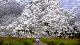9 НЕВЕРОЯТНЫХ извержений вулкана снятых на камеру
