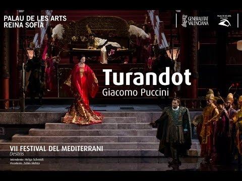 Nessun dorma. Turandot. Jorge de León. Palau de les Arts Reina Sofía. Valencia