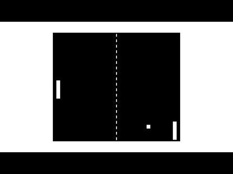 Pong - HTML5 Game Programming Tutorial [javascript]