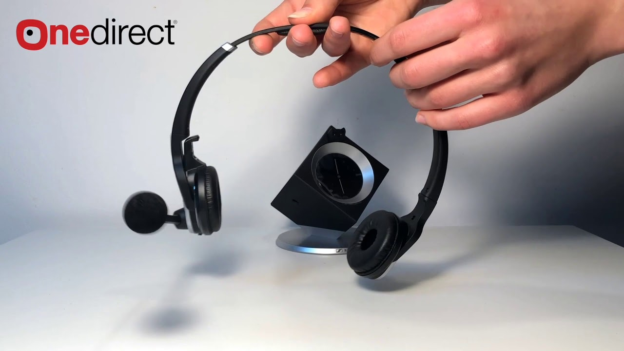 996ba148aa6 Sennheiser DW Pro 2 USB ML - Onedirect - YouTube