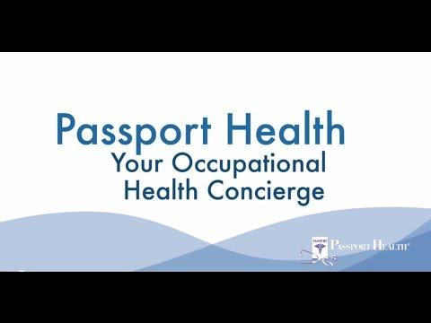 Passport Health is Your Occupational Medicine Concierge
