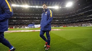 BEHIND THE SCENES - The return of Leo Messi at the Bernabeu