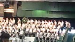 Alma Mater Song, RV Golez graduation, La Salle Greenhills, 27 March 2010