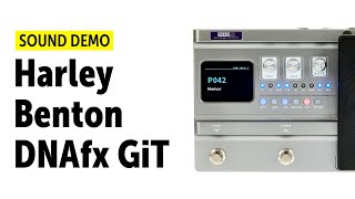 Harley Benton DNAfx GiT - Sound Demo (no talking)