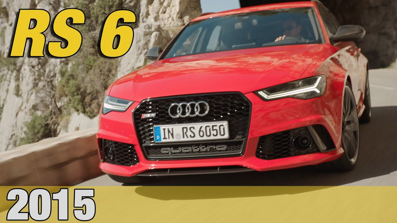 2015 audi rs6 test drive good exhaust sound youtube. Black Bedroom Furniture Sets. Home Design Ideas