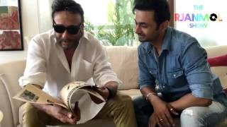 rj anmol gifts jackie shroff original poster of ram lakhan and a surprize episode 02