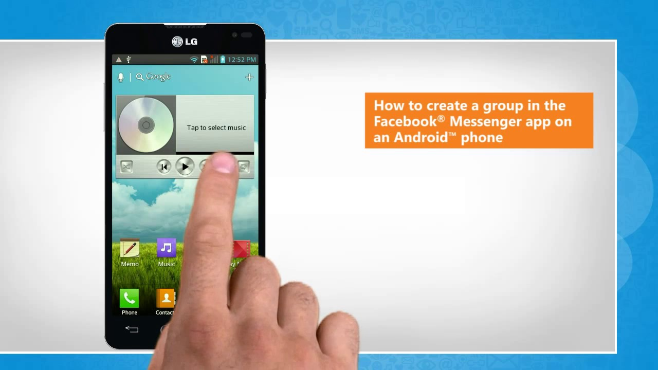 How To Create A Group In The Facebook� Messenger App On An Android™ Phone