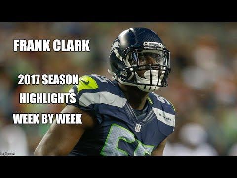 Frank Clark #55 | 2017 Season HD Highlights week-by-week