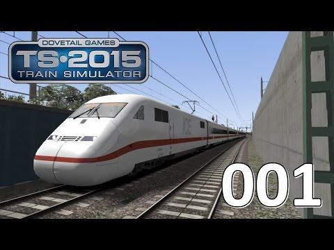 Let's Play Train Simulator 2015 #001 - ICE 2 von Hannover nach Uelzen