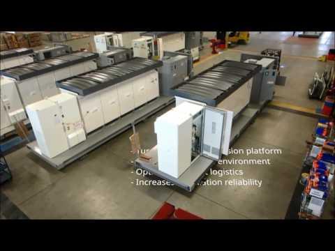 Canadian Solar MV Station Video