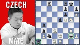 Czech Mate - Wei Yi vs Stocek | Chess Olympiad 2018 Batumi