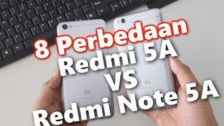 8 Perbedaan Xiaomi Redmi 5A vs Redmi Note 5A - Review Indonesia
